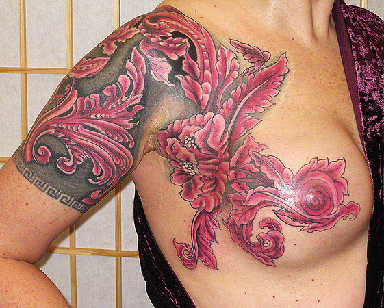 Mastectomy tattoos for Tattooed nipples after reconstruction