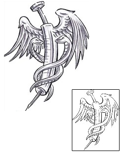caduceus amp medical staff tattoos
